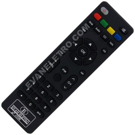 Controle Remoto Conversor Digital Multilaser RE508 / RE509 / RE510
