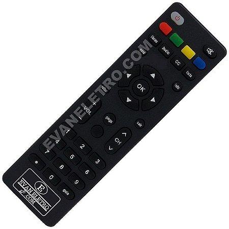 Controle Remoto Conversor Digital Intelbras CD 903