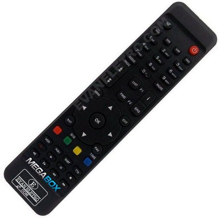 Controle Remoto Receptor Megabox MG3W