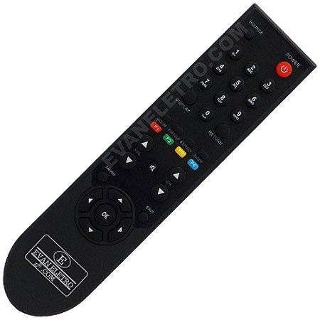 Controle Remoto TV LCD / LED Philco PH24M / PH24MR