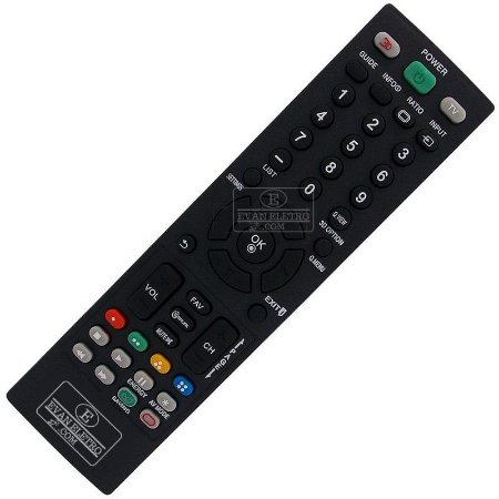 Controle Remoto TV LCD / LED LG AKB73655807 / 32LM3400 / 42LM3400 42CS60 / 42LS3400 / 32CS460 / 32LS3400 / AKB73655808
