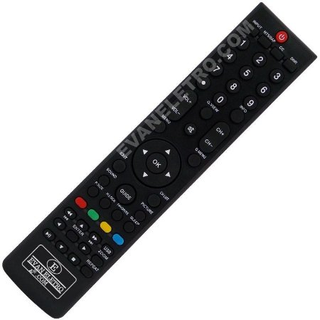 Controle Remoto TV LCD / LED H-Buster HBTV-32L05HD / HBTV-42L05FD