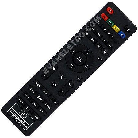 Controle Remoto Receptor Megabox 2000