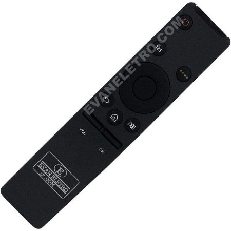 Controle Remoto Smart TV LED Samsung 4K BN59-01259B / BN59-01259E / BN98-06901D / DBN98-06762L / UN40KU6000G / UN40KU6000GXZD / UN40KU6300G / UN40KU6300GXZD / UN40K6500AG / UN40K6500AGXZD / UN49KU6300G / UN49KU6300GXZD / UN49K6500AG / UN49K6500AGXZD / UN5