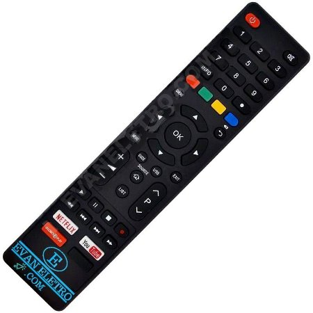 Controle Remoto TV LED Cobia com Netflix / Youtube E GLOBOPLAY (Smart TV)