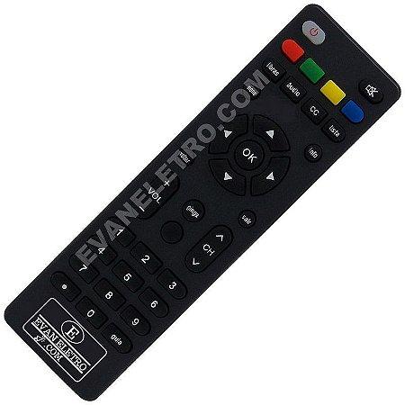 Controle Remoto para receptor KOQIT K1MINI DVB-S2 H264 HD Receiver