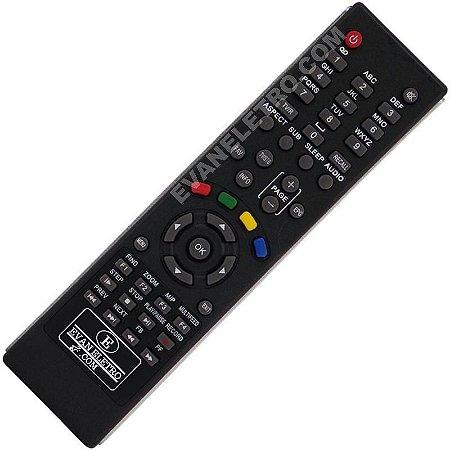 Controle Remoto Receptor Azsat S966
