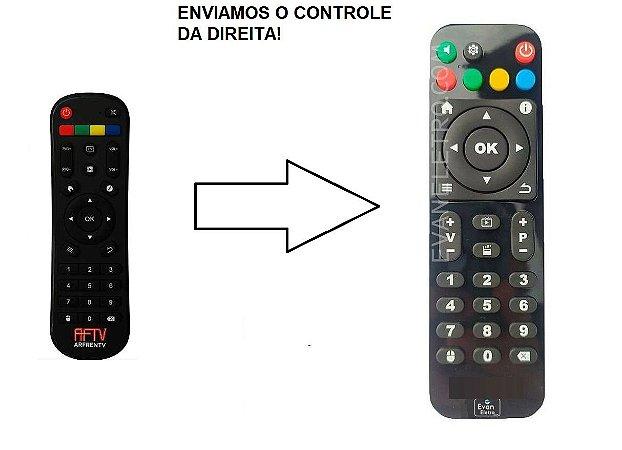 Controle remoto Para receptor AFTV X6 Lite