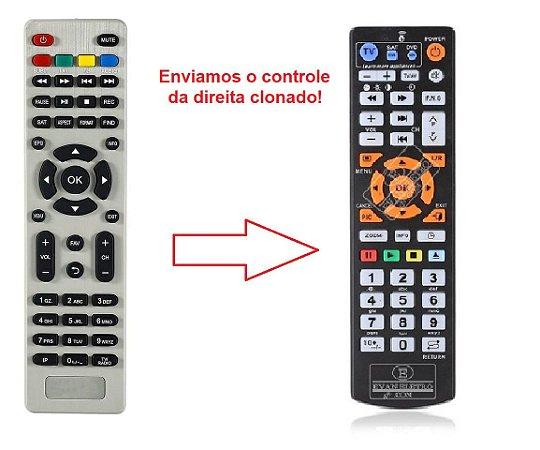 Controle remoto para receptor Superbox Prime ITV