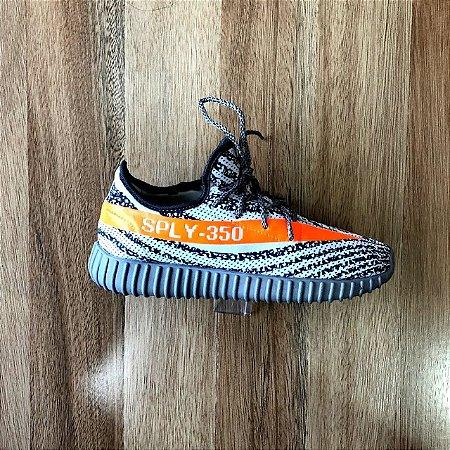 d6a19b7b3 Yeezy Boost 350 cinza e laranja - Brooklyn Store