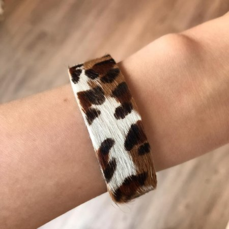 Pulseira Animal Print Média Leopardo