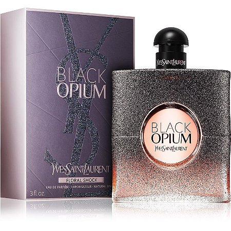 45210cb62 Yves Saint Laurent Black Opium Floral Shock Eau de Parfum Feminino 90ml