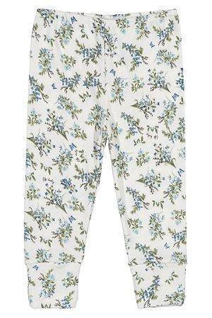 Calça em Suedine - Floral