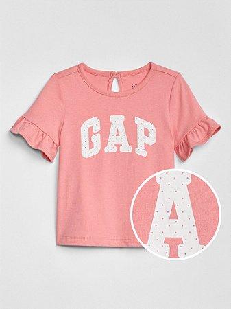 T-shirt Baby GAP - Rosa