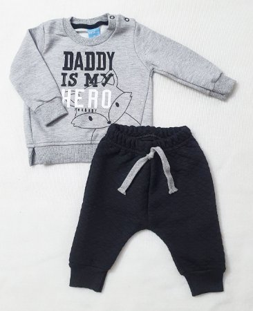 Conjunto TMX Daddy Is My Hero