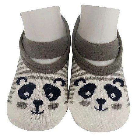 Meias Sapatilha Antiderrapante - Panda