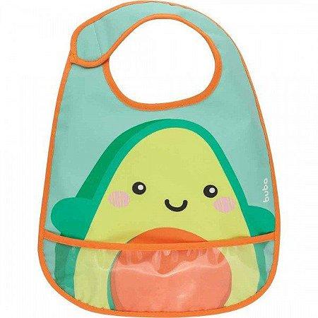 Babador Frutti Impermeável - Avocado