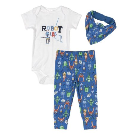 Conjunto Up Baby - Robô