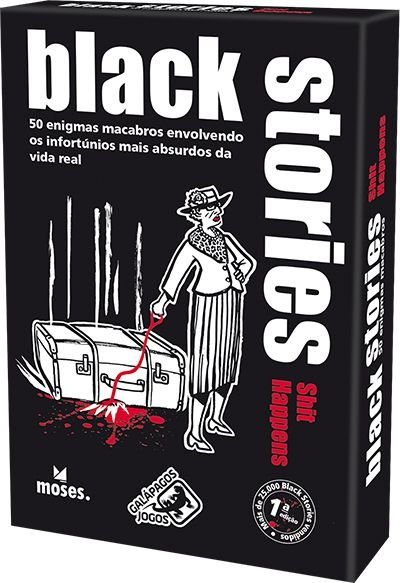 Black Stories: Shit Happens – Em Português!
