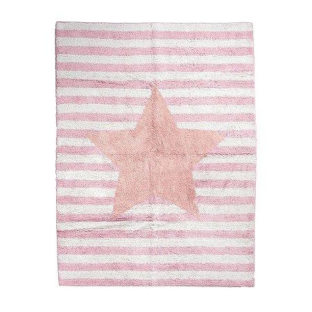 Tapete Estrela Rosa - Bup Baby