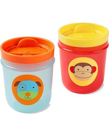 Kit 2 Copos Zoo Macaco e Cachorro - Skip Hop