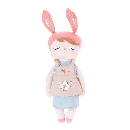 Boneca Metoo Angela Doceira Retro Bunny Rosa - Metoo
