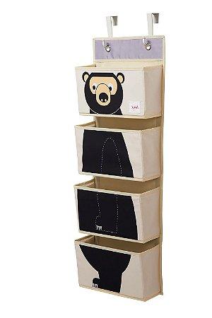 Organizador de Parede Urso - 3 Sprouts