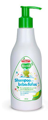 Shampoo Infantil com Queratina Vegetal sem sal 250ml - Bioclub Baby