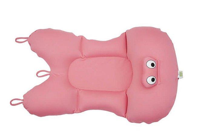 Almofada para Banho Infantil Rosa - Baby Pil