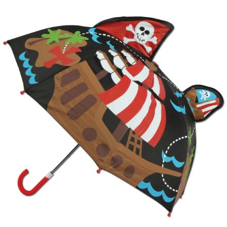 Guarda-Chuva Infantil 3D Pirata - Stephen Joseph