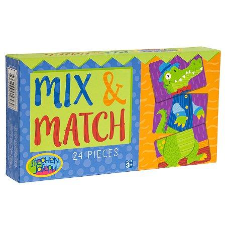 Mix and Match Boy 24 peças - Stephen Joseph