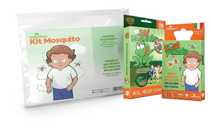 Kit Mosquito Adesivo Repelente e Post Picada - Babydeas