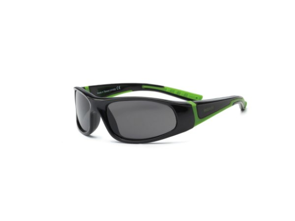 Óculos de Sol Bolt Preto e Verde - Real Shades