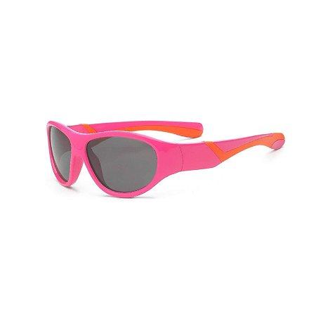 Óculos de Sol Discover Rosa e Laranja - Real Shades