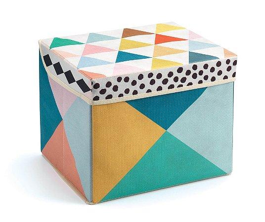 Caixa Organizadora de Brinquedos Geométrica - Djeco