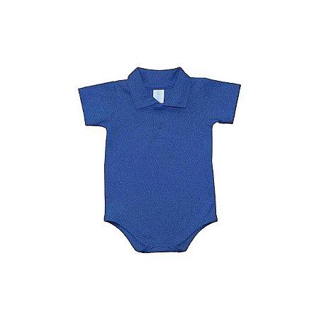 Body Polo Baby Mescla Azul - Dudes