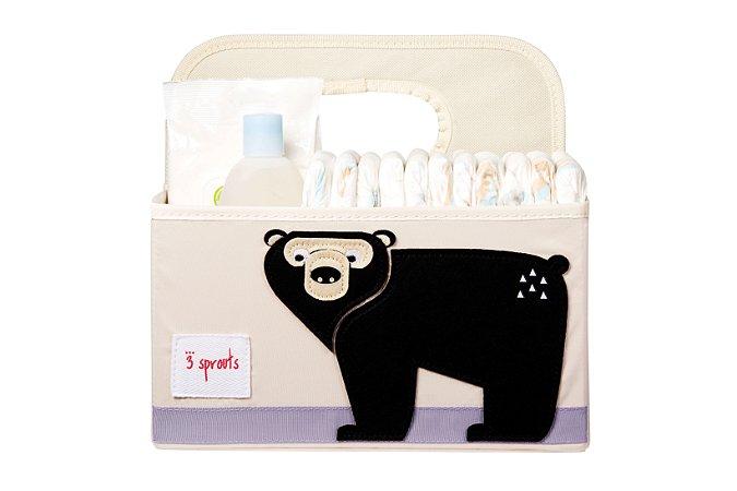 Organizador de Fraldas Urso - 3 Sprouts