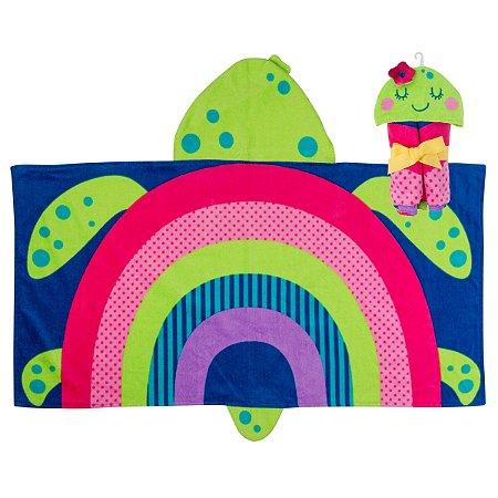 Toalha de Banho Infantil Tartaruga - Stephen Joseph
