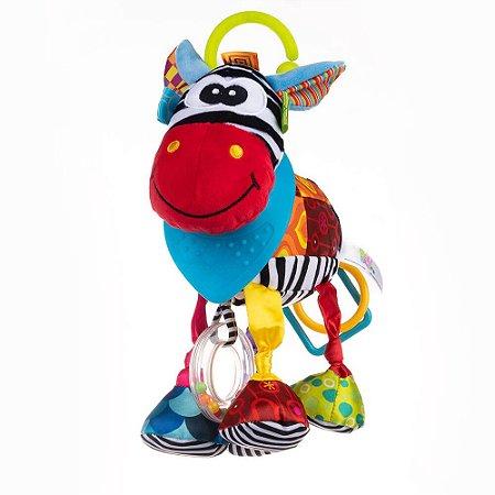 Pelúcia de Atividades Bandana Buddies Zebra Dave - Balibazoo