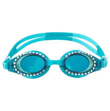 Óculos de Natação com Brilho Azul Turqueza - Stephen Joseph