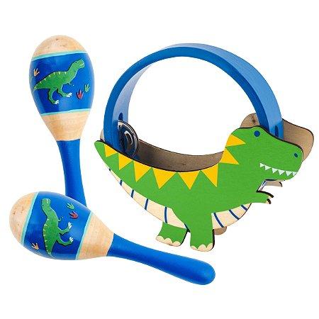 Kit de Percussão Dino - Stephen Joseph