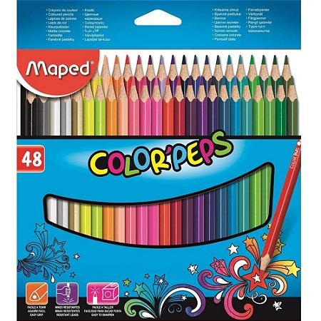 Lápis De Cor Color'peps Classic 48 MAPED