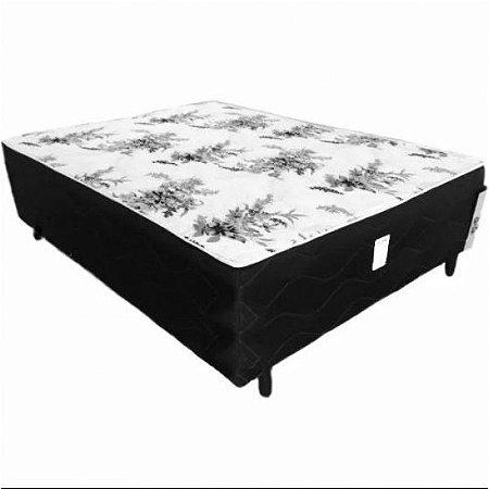 Cama Conjugada Box de Casal Ortopédica Alpha 188x138x50 cm