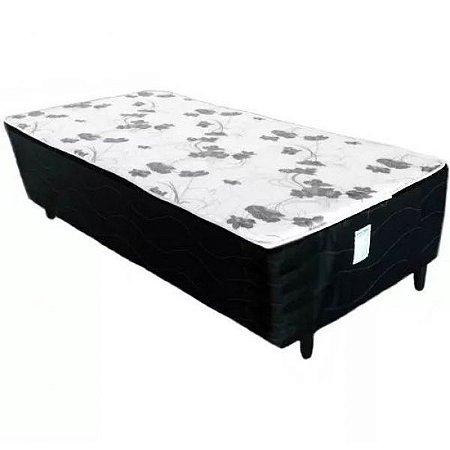 Cama Conjugada Box de  Solteiro Ortopedica Alpha 188x88x50 cm