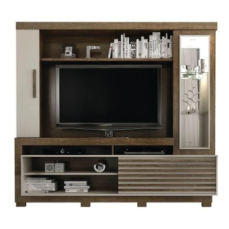 Home Theater Lexus Valdemóveis para TV até 60 pol Ipe Off White