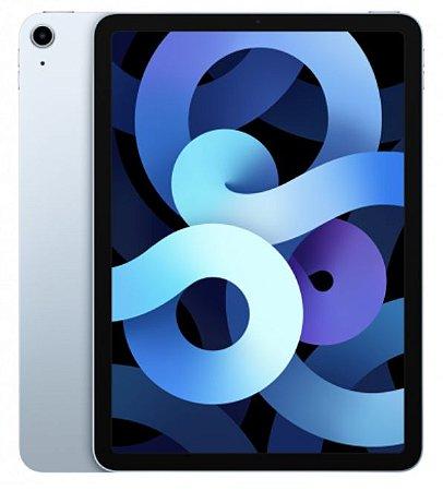 iPad Air 4ª Geração 256GB Azul Wifi + Celullar - Pré-Venda