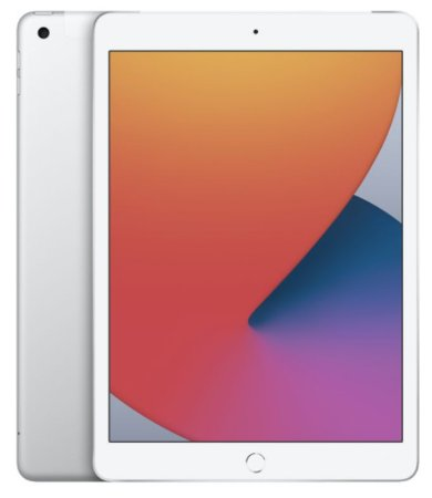 iPad 8˚Geração Prateado 128GB Wifi + Celullar
