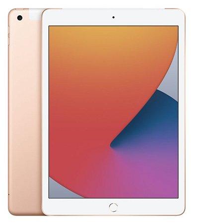 iPad 8˚Geração Dourado 128GB Wifi + Celullar