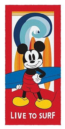 Toalha Banho Infantil Mickey