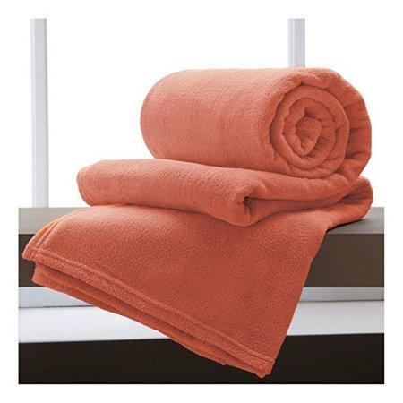 Manta Cobertor Sofisticata Casal TerraCota -  Atlantica